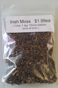 Irish Moss Maine Brewing Supply