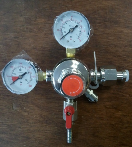 Dual Stage CO2 Regulator   Maine Brewing Supply